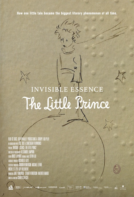 Invisible Essence: The Little Prince movie poster