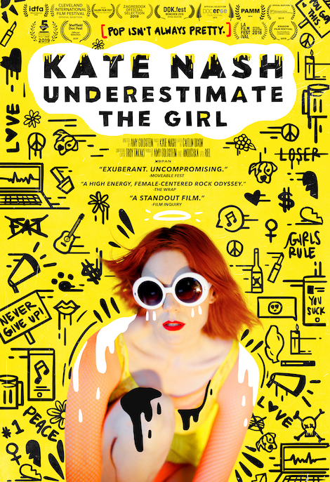 Kate Nash: Underestimate The Girl movie poster