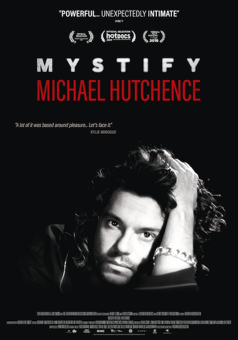 Mystify: Michael Hutchence movie poster