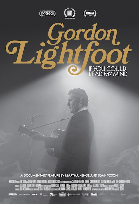 Gordon Lightfoot: If You Could Read My Mind movie poster