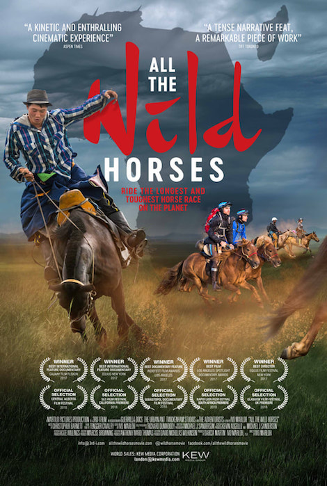 All The Wild Horses movie poster